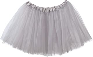 Adult Tutu Skirt, Classic Elastic 3 Layer Tulle Tutu for Women and Teens