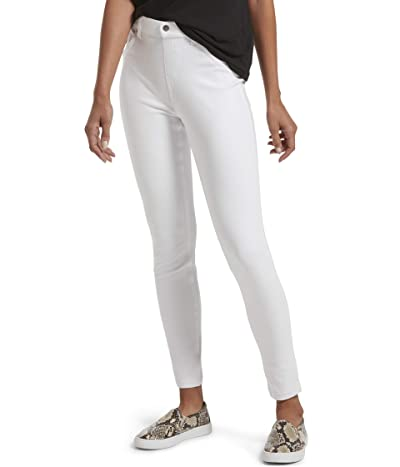 HUE High-Waist Ultra Soft Denim Leggings (White) Women
