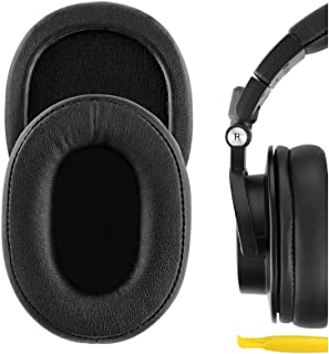 Geekria QuickFit Proteïne Lederen Vervanging Oorkussens voor Audio Technica ATH-M50X, ATH-M50XBT, ATH-M50, ATH-M40X, ATH-M...