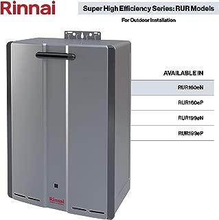 Rinnai RUR Series Sensei SE+ Tankless Hot Water Heater: Outdoor Installation