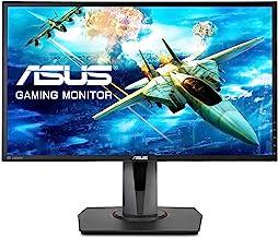 ASUS 24in Full HD 1ms 144Hz DP HDMI FreeSync/Adaptive Sync Eye Care Esports Gaming Monitor Model MG248QR (Renewed)