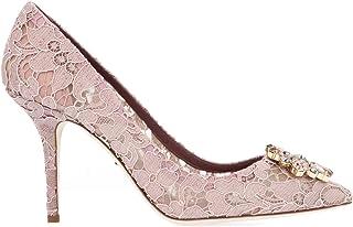DOLCE E GABBANA Luxury Fashion Womens CD0101AL19887142 Pink Pumps | Season Permanent