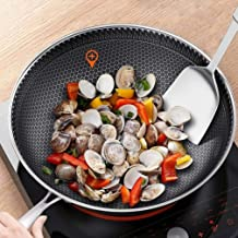 Kitchen Cookware Three - Layer Stainless Steel Wok No Oil Smoke Non - Stick Pan Saucepan Home Cooking Pot Gas Cooker Unive...