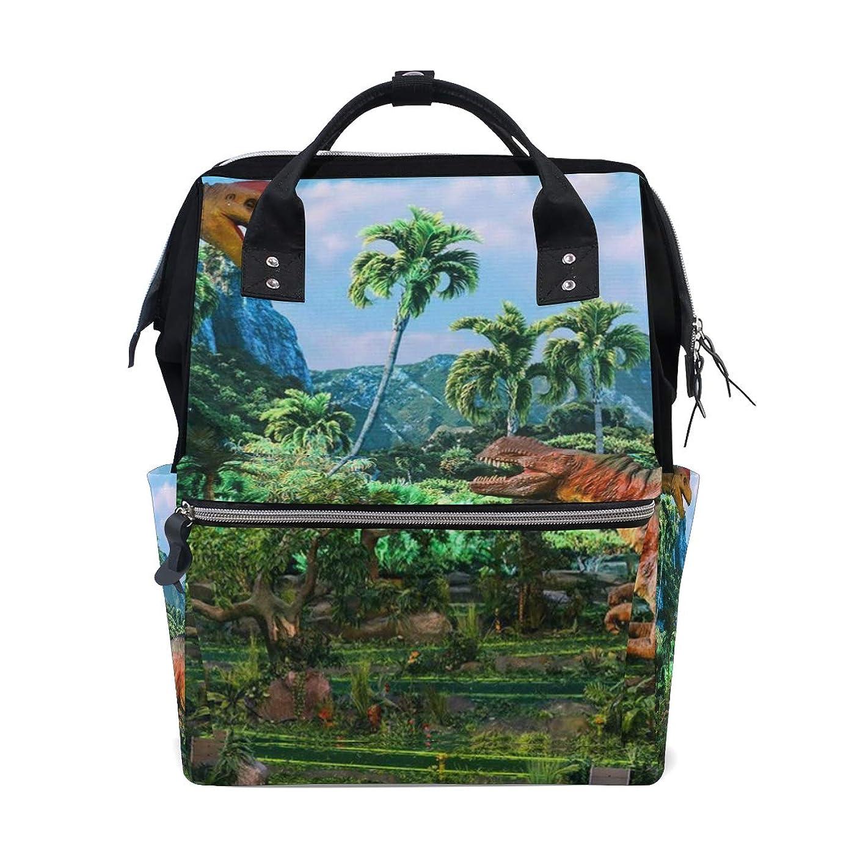 Jurassic Tyrannosaurus Rex Dinosaur School Backpack Large Capacity Mummy Bags Laptop Handbag Casual Travel Rucksack Satchel For Women Men Adult Teen Children