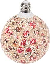 Uonlytech geleide lamp mozaïekpatroon lampen draad lamp hoofddecoratie energiebesparende gloeilamp voor hoofdhotel