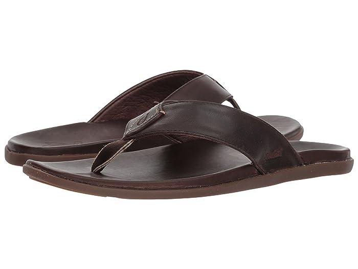 Nalukai Sandal Dark Koa/Dark Koa