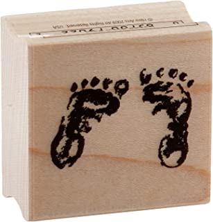 Stamps by Impression ST 0115 Feet Rubber Stamp Small