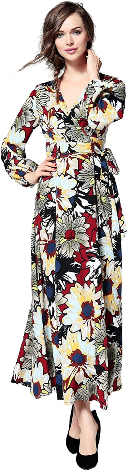 Joy EnvyLand Women Floral Beach Split Cocktail Garden Casual Party Picnic Dress