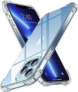 YoYoTech Case Designed for iPhone 13 Pro Max, Anti-Scratch & Shock Absorption, Premium TPU Reinforced Corner Cushion, Crys...