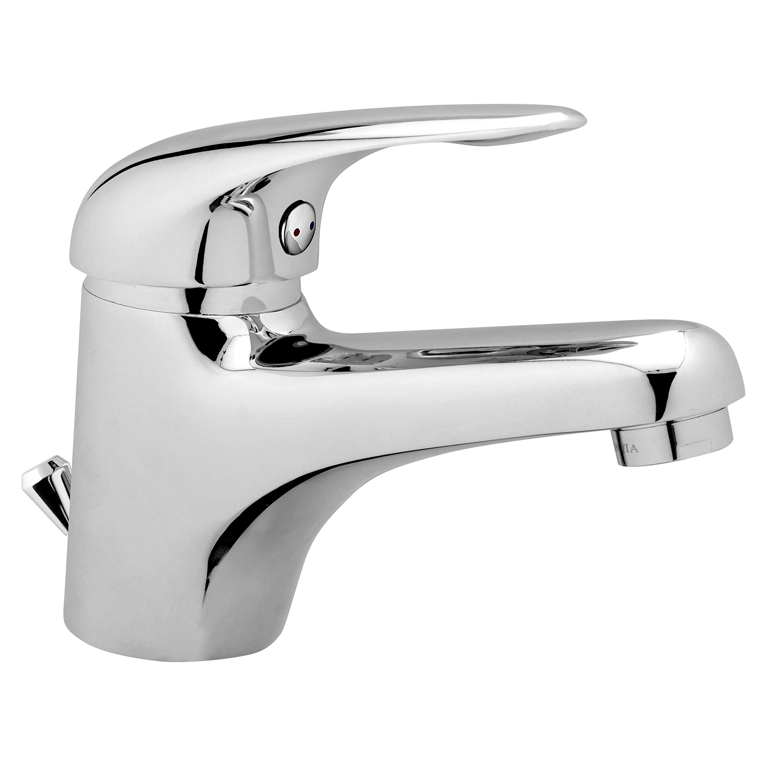 Wasserhahn Bad Einhebel Waschtisch Armatur Badezimmer Waschbecken  Mischbatterie mit Ablaufgarnitur
