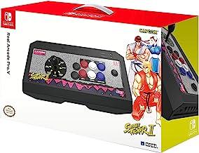 Hori - Real Arcade Pro.V Hayabusa, Edición Street Fighter II Retro (Nintendo Switch/PC)