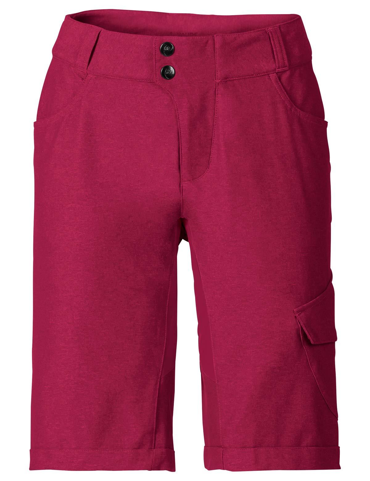 VAUDE Damen Hose Tremalzo Shorts II, crimson red, 42, 405079770420