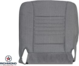Richmond Auto Upholstery - Driver Side Bottom Replacement Cloth Seat Cover, Gray (Compatible with 2006 2007 2008 Dodge Ram Work Truck Base Cab)