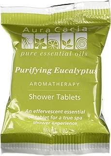 Aura Cacia Shower Tablet Eucalyptus Purifying, 3 oz
