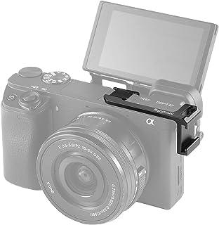 SMALLRIG Lado Izquierdo Adaptador de Cold Shoe para Sony A6000 / A6300 / A6400 / A6500 - BUC2342