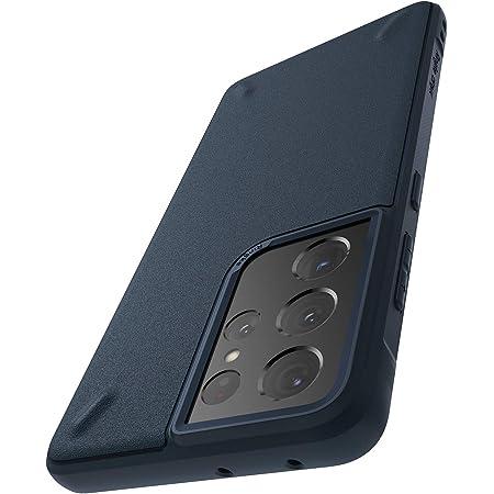 """Ringke Onyx Compatible con Funda Galaxy S21 Ultra 5G (6.8"""") Protección Flexible y Resistente Golpes Antideslizante - Navy"""