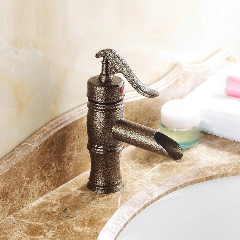 LD&P Waschbecken Wasserhhne, Waschtisch antiken schrubben Wasserhhne, Waschbecken Armaturen, heiem und kaltem Wasser Wasserhahn, Waschbecken Armaturen Einhebel verchromt