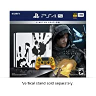PlayStation 4 Pro 1TB Limited... PlayStation 4 Pro 1TB Limited Edition Console - Death Stranding Bundle