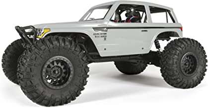 Axial Wraith Spawn 4WD RC Rock Racer Off-Road 4x4 RTR with 2.4Ghz Radio & Waterproof ESC, 1/10 Scale RTR