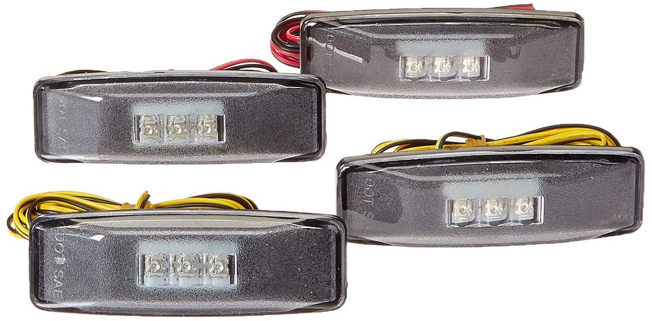 DNA Motoring FENDL-DRAM94-CH Full Kit Dually Bed Fender LED Side Marker Light