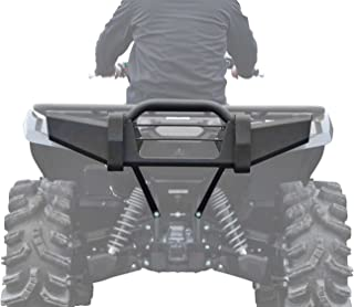 SuperATV Heavy Duty Rear Bumper for Yamaha Grizzly 550/700 - Fits Years Up To 2015