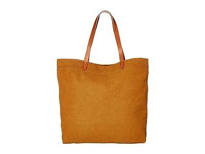 Madewell The Canvas Transport Tote (Acorn) Handbags