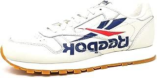 Reebok Classic Leather x LVRN 3AM ATM (Chalk/Washed Blue/Primal Red/Gum) Men's Shoes DV4843