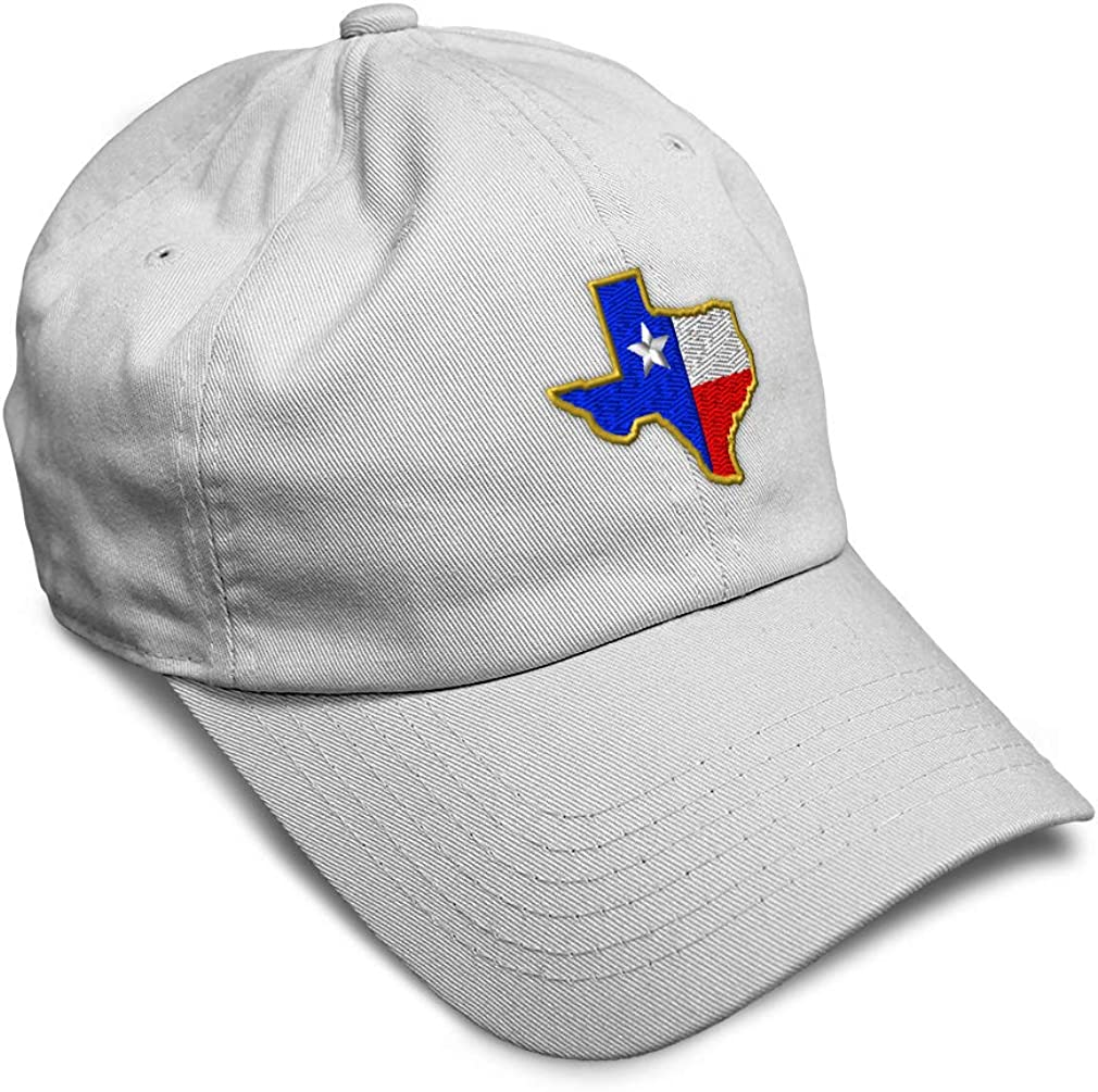 Custom Rapid Max 67% OFF rise Soft Baseball Cap Texas State Embroidery Twill Map Flag A