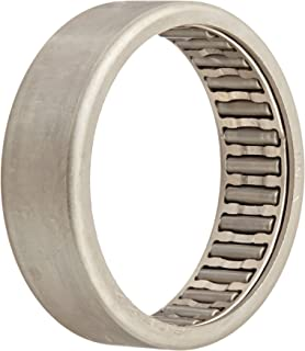 """INA SCE228 Needle Roller Bearing, Steel Cage, Open End, Inch, 1-3/8"""" ID, 1-5/8"""" OD, 1/2"""" Width, 8000rpm Maximum Rotational Speed, 5300lbf Static Load Capacity, 3050lbf Dynamic Load Capacity"""