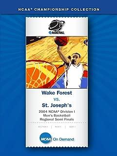2004 NCAA(r) Division I Men's Basketball Regional Semi Finals - Wake Forest vs. St. Joseph's