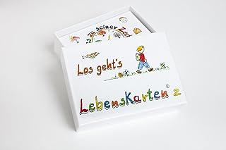 Lebenskarten 2 von Barbara Völkner (72 Karten, Visitenkarte