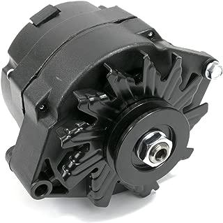 A-Team Performance GM 10SI Style 110 Amp Alternator Compatible with Buick, Cadillac, Chevrolet, Detroit, GM Diesel V8, GM Inline, GM V6, Isuzu, Oldsmobile, Pontiac V8, Black