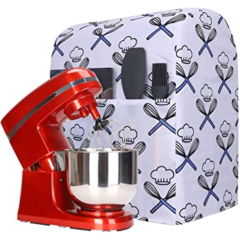 Amazon Com Kitchen Aid Mixer Dust Cover Stand Mixer Small Appliances Cover With Pockets Compatible With All Tilt Head Bowl Lift 5 8 Quart Kitchen Aid Mixers For Kitchenaid Mixers Hamilton Mixers Y01 Kitchen