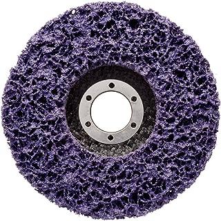 Disque abrasif non tissé 3M Scotch-Brite Clean & Strip XT-RD, 115 x 22 mm, Grain Extra gros, Violet 1 disque/carton
