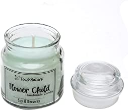Touch Nature Flower Child Soy And Beeswax Jar Candle