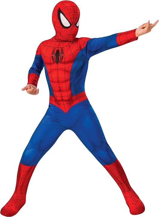 Costume spiderman classic bambino 702072-m rubie`s