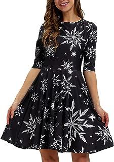 Best snowflake dress womens Reviews
