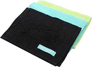 FACESOFT Towel Company: Hypo-Allergenic - Perfect Cotton Mini Yoga Towel - Anti-Bacterial - Absolutely No Synthetic Microfibers - 3 Pack