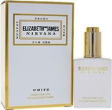 Elizabeth and James Nirvana White Perfume Oil for Women, 0.15 Ounce