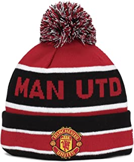 New Era Manchester United Cuff Bobble Sports Knit Beanie, OS