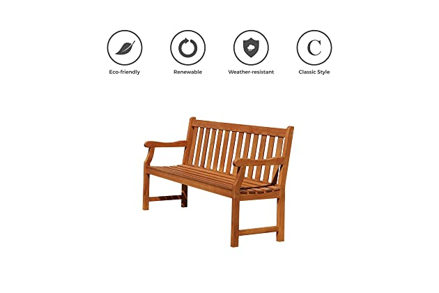 Awesome Best Wood Garden Benches For Outdoors Amazon Com Lamtechconsult Wood Chair Design Ideas Lamtechconsultcom
