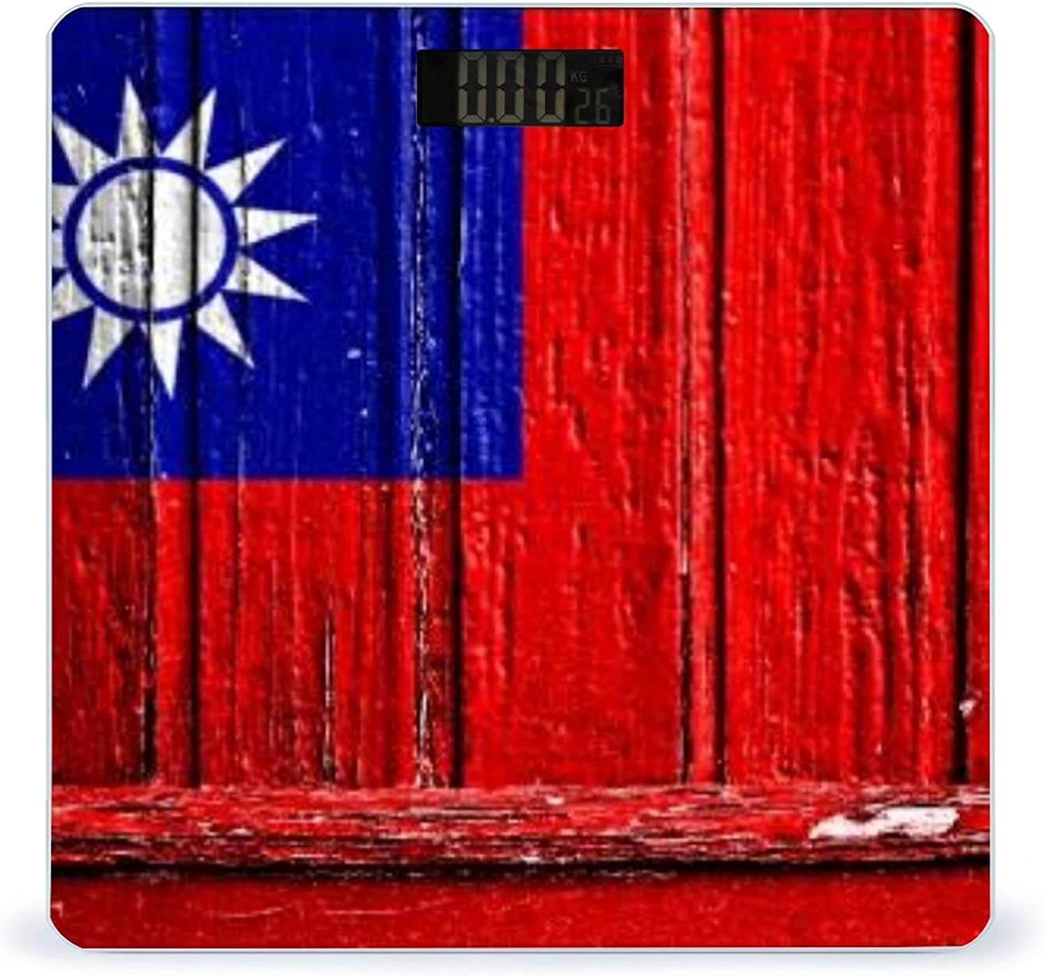 CHUFZSD Max 73% OFF Flag of Taiwan Painted On Accurate Highly Discount is also underway Wooden Frame S