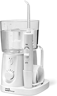 Waterpik Water Flosser For Teeth, Portable Electric For Travel and Home - Nano Plus, WP-320, White, 6 Count