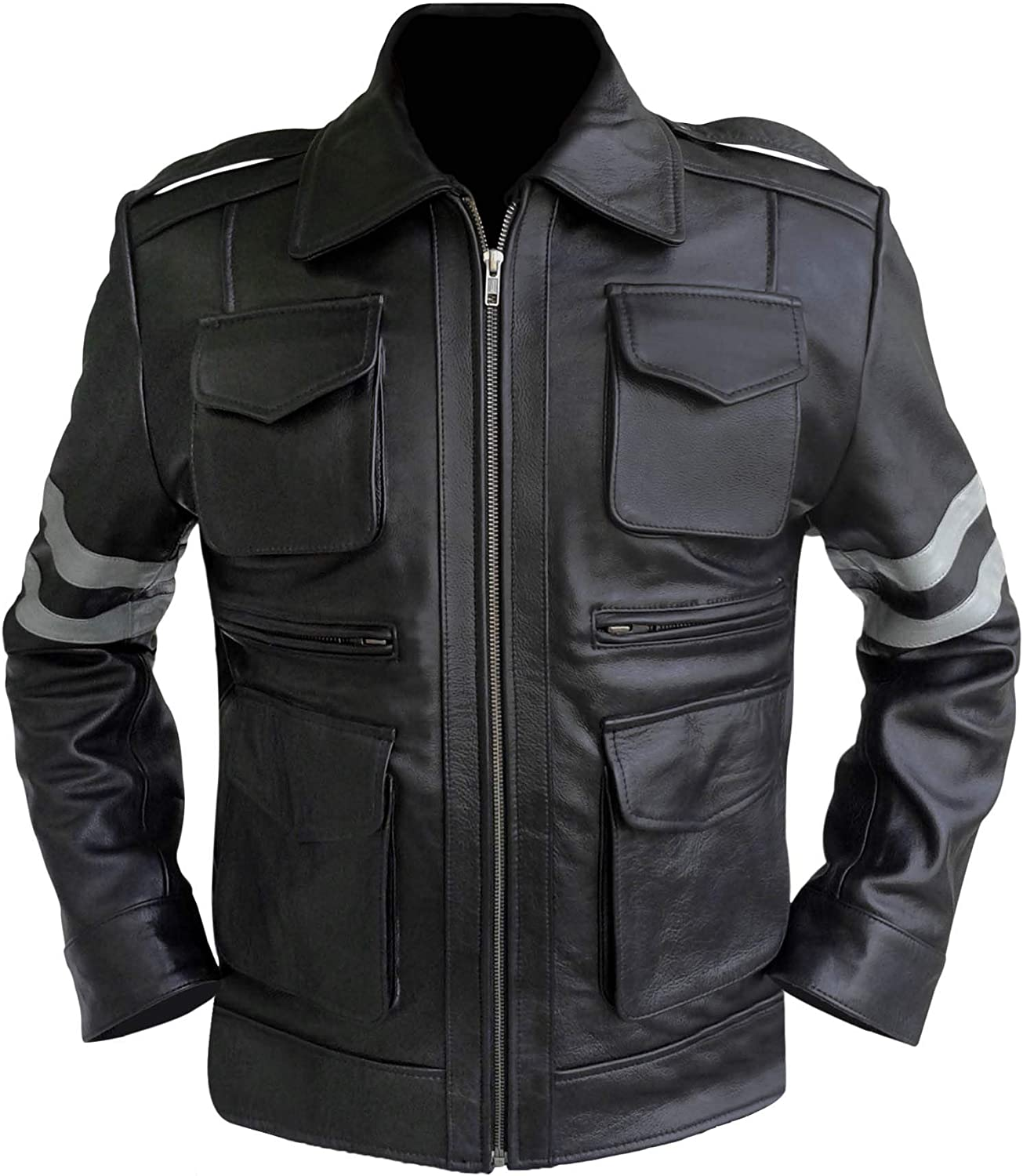 Gamer Resident Evil Classic wholesale Leon Jacket RE6 Kennedy High order Leather