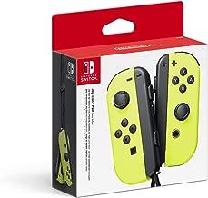 Nintendo Switch Joy Con Yellow Controller Pair