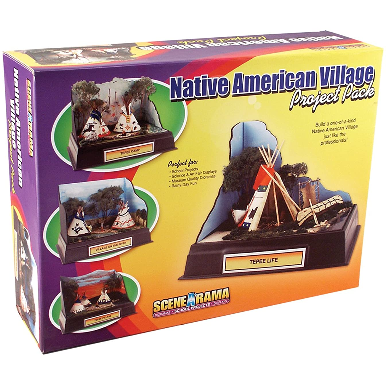 Woodland Scenics Project Pack, Native American Village