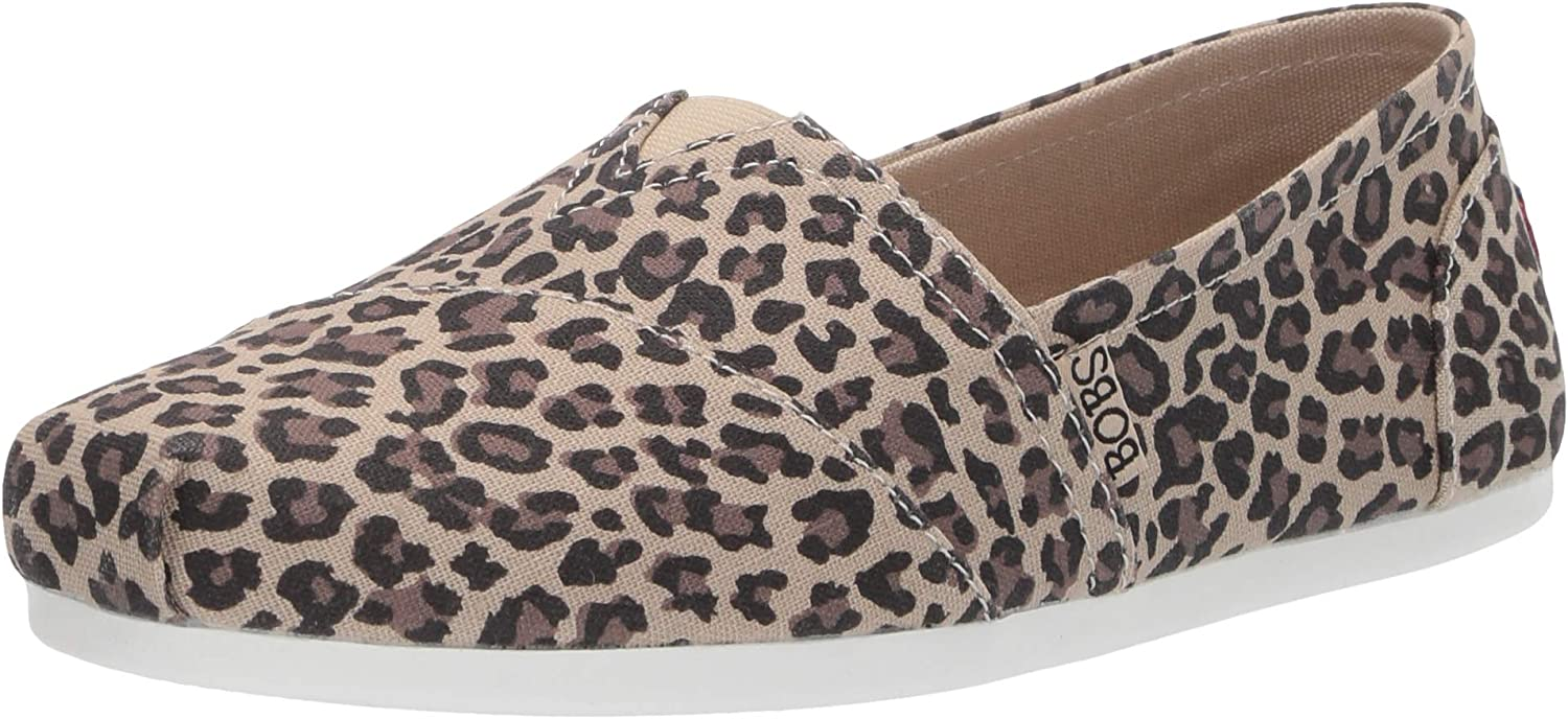 Skechers Womens BOBS Plush - HOT Spotted Slip-On