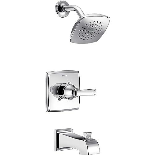 Delta Tub Shower Faucets Amazon Com