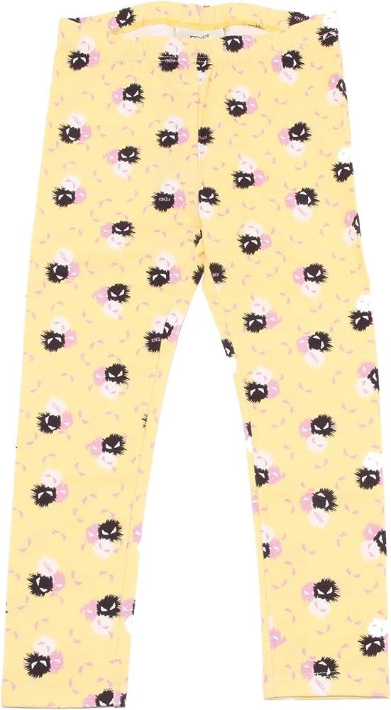 Fendi, leggins per bambina dai 4 ai 12 anni, 90% cotone, 10% elastan JFF020 6N7 F0QF1