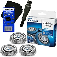 Philips Norelco SH70/52 Replacement Head for Series 7000; S7370, S7371 & S7720 Electric Shavers + Double Ended Shaver Brus...